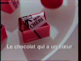 Publicité chocolat Mon Chéri 1993