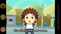 Nursery Rhymes & Children Songs - Rig-A-Jig-Jig ( Rig A Jig Jig )