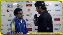تصريح حسن الراهب بعد مباراة الأهلي دوري عبداللطيف جميل