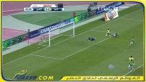 لحظة فرحة بالهدف الثالث للنصر بين محمد نور وكارينيو + لقطة جيزاوي