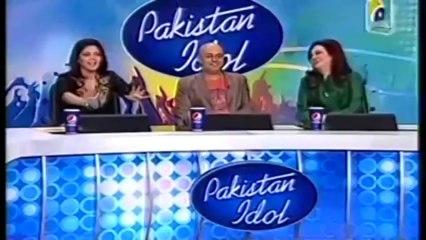 Pakistani Shahrukh Khan in Pakistan Idol