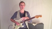 Lead Guitar Lesson - Learn this Cool Rock Blues Guitar Lick -