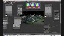 Blender GLSL - Parallax Mapping Effect w/ Material Nodes - video