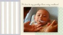 Lujana Kiddon Soft Silicone Baby Bib - Cute Bibs for Infant