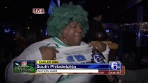 Biggest Eagles Fan Freaks Out On The News After Eagles Beat The Cowboys