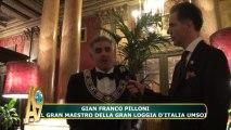 Gian Franco Pilloni, il Gran Maestro della Gran Loggia d'Italia UMSOI (22 Settembre, 2012)