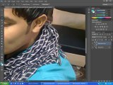 How To Put Blur Effect In Background And Skin Glow Effect : Adobe Photoshop Tutorial