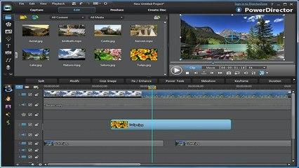 ¿como editar un video con el powerdirector 12 en español ?