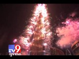 Happy New Year : Dubai captivates the world with dazzling fireworks - Tv9 Gujarat