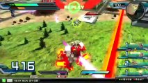 Gundam Extreme Vs. Full Boost - 1276 Extreme Xenon-F Gameplay