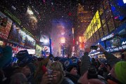 Times Square Ball Drop Brings in 2014 - New York City New Year's Eve 2014