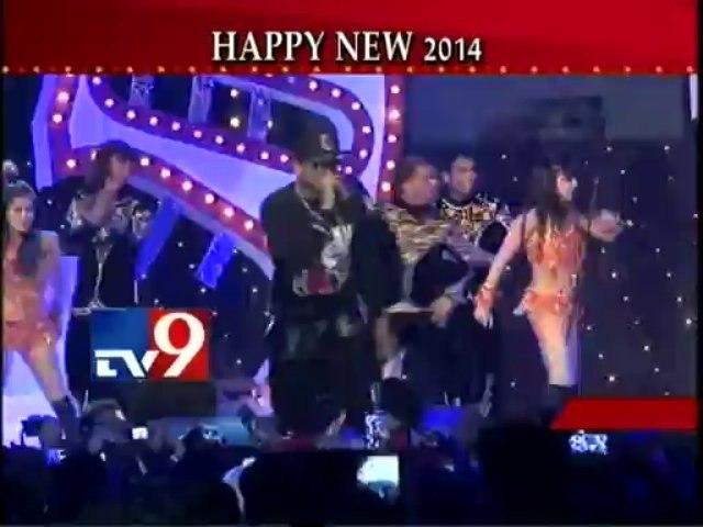 Yo Yo Honey Singh ''New Year 2014'' Glitterati Performance-TV9