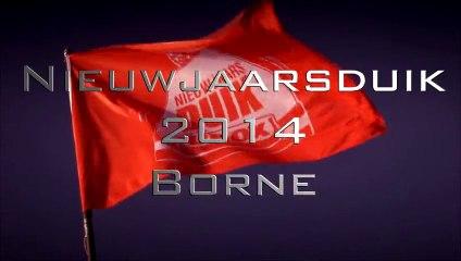 Nieuwsjaarsduik Borne 2014