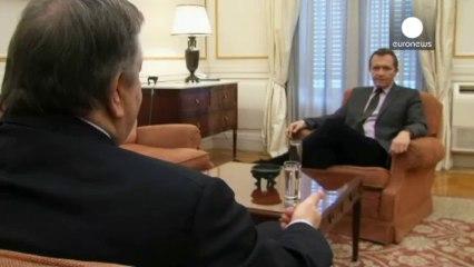 O Ευάγγελος Βενιζέλος στο euronews - euronews, news +