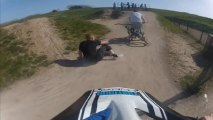 The Weird Bmx Accident - Go Pro HD Hero