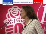 Segolene - Congres investiture PS