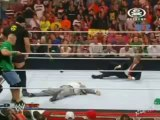 John Cena, Vince McMahon, Big Show, John Laurinaitis, Ochrona (11.06.2012)
