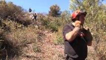 L'incendie entre Cassis et La Ciotat ravage 250 ha de broussailles