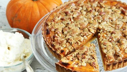 How To Make Pumpkin Pie With Pecan Topping