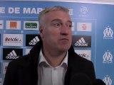 """Deschamps : """"Très heureux pour l'OM; Marseille et les supporters"""""""