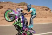 Bike stunt wheelie compilation - Bike Wheeling