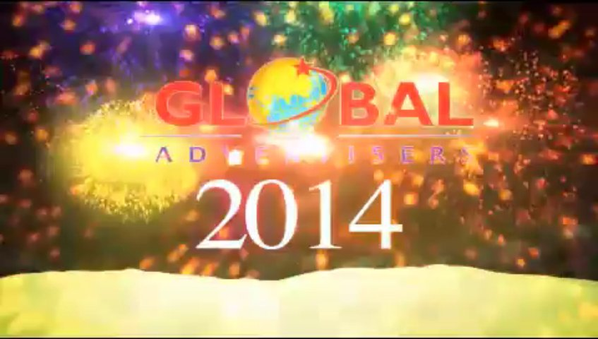 Global Advertisers – New Year 2014