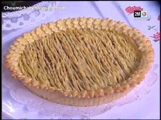 Recette de tarte creme patissiere aux fruits secs