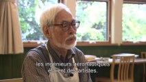 Le Vent se lève - Interview de Hayao Miyazaki