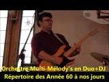 Orchestre de Variétés MULTI-MELODY'S Rhône-69- Rhône Alpes