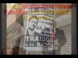 Amenazan a Peña Nieto