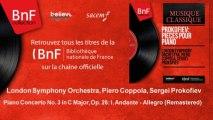 London Symphony Orchestra, Piero Coppola, Sergei Prokofiev - Piano Concerto No. 3 - Remastered