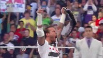 WWE Summerslam 2011 John Cena vs CM Punk Undisputed Championship