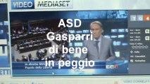 Fede Belpietro e Gasparri delirio sulle intercettazioni al tg4 (TG4 15/09/2011)