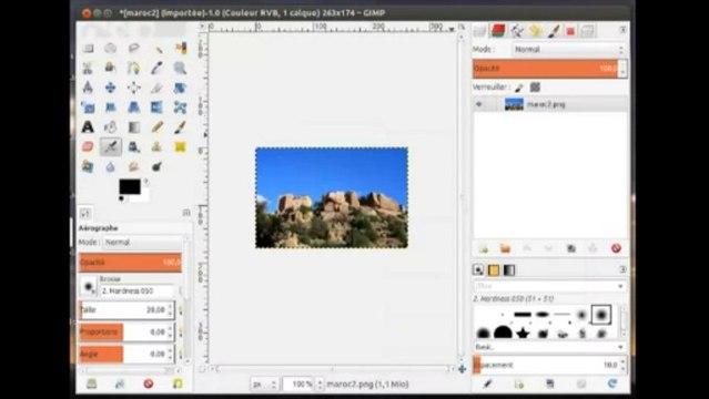 Changer la taille d'une photo avec GIMP