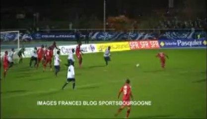 Foot Coupe de France : Aubagne - Dijon 3-3 4-5TAB