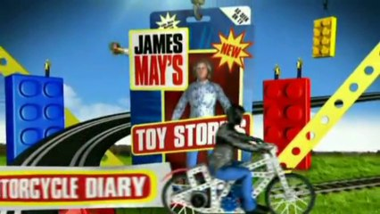 NEW James May's Toy Stories The Motorcycle Diary