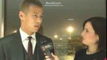 Le prime parole in rossonero di Keisuke Hon I First words of Keisuke Honda in AC Milan