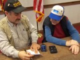 TA1IG, Chairman of TRAK amateur radio club with  Lakeway amateur club president KJ4BHF