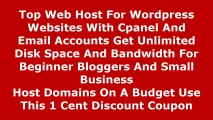 Best Cheap Web Hosting 2014 -  Top Web Host For Wordpress Websites With Cpanel And Email Accounts Get Unlimited Disk Space And Bandwidth For Beginner Bloggers And Small Business  Host Domains On A Budget Use This Discount Coupon Review