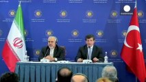 Iran and Turkey officials discuss Syrian crisis in Istanbul