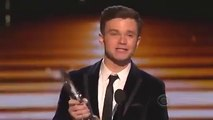 Chris Colfer Wins Favorite TV Comedic Actor on People's Choice Awards 2014