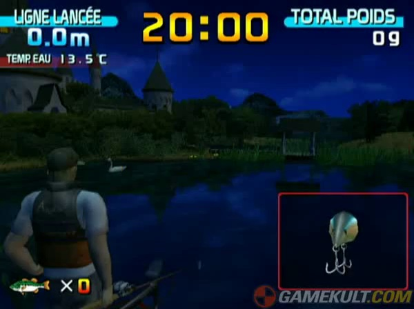 Sega Bass Fishing – Ligne cassée