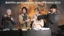 SoloVox poésie musique slam - 43 - Antoine Ostiguy Drapeau - Hommage à Louis Geoffroy