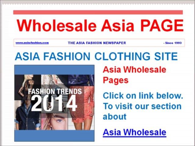 Asia Fashion News