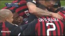 AC Milan 3-0 Atalanta - All Goals - Commentary by Mauro Suma - 6-1-2014