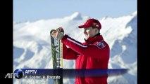 Angela Merkel sufre leve accidente de esquí