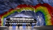 """Paris zeigt """"sinnlichen"""" U-Bahn-Express für 2030"""