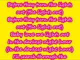 Beyonce XO lyrics CHIPMUNK VERSION