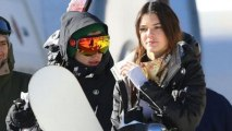Harry Styles And Kendall Jenner SPOTTED Skiing