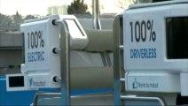 Navia, une voiture française sans conducteur à Las Vegas